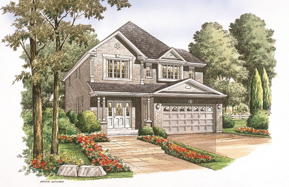 Birkdale A: 2405 Square Feet